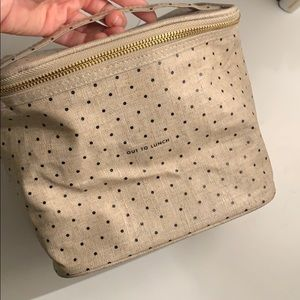 """Kate Spade """"Out to Lunch"""" lunch bag - brand new!"""